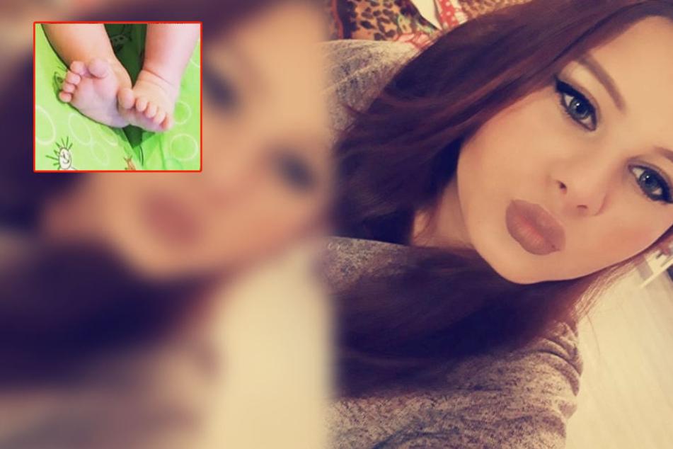 Silvias Tochter Calantha (18) ist zum ersten Mal Mutter geworden.