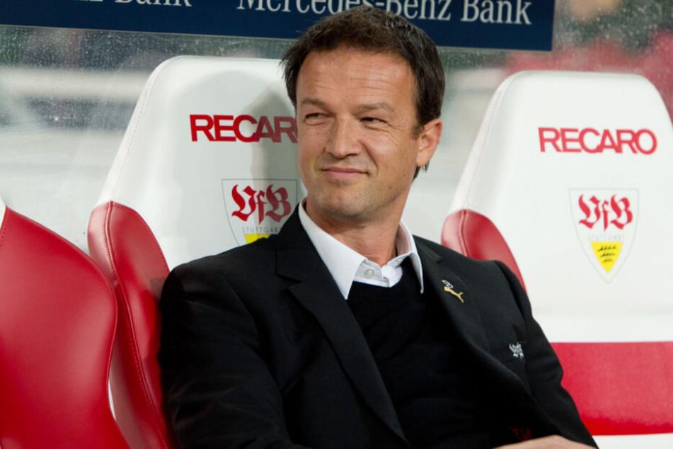 Stand beim VfB von 2010 bis 2014 in der sportlichen Verantwortung: Fredi Bobic.