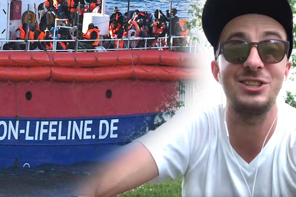 """Jan Böhmermann (37) ruft derweil zu Spenden auf """"für die Rechtsanwälte""""."""