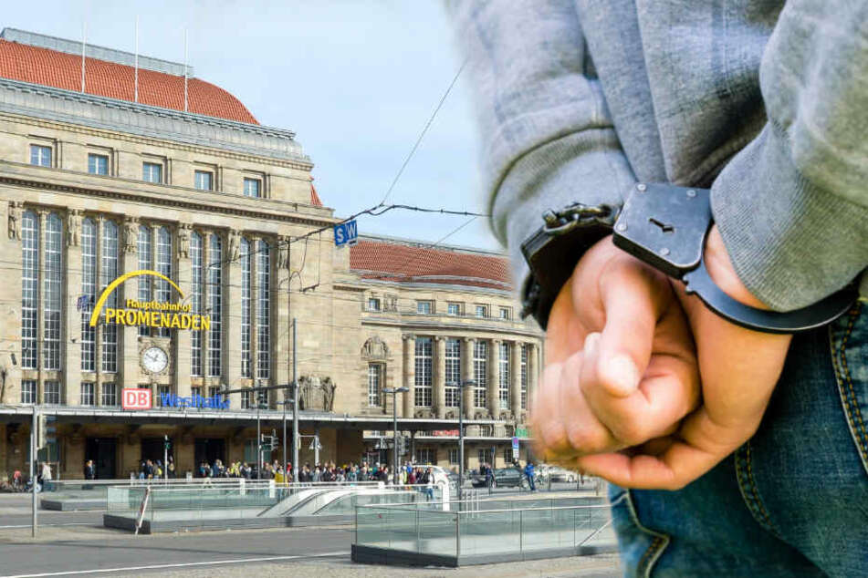 Die Polizei hat in Leipzig einen 23-Jährigen festgenommen, nachdem dieser einen 18-Jährigen angegriffen hatte. (Symbolbild)