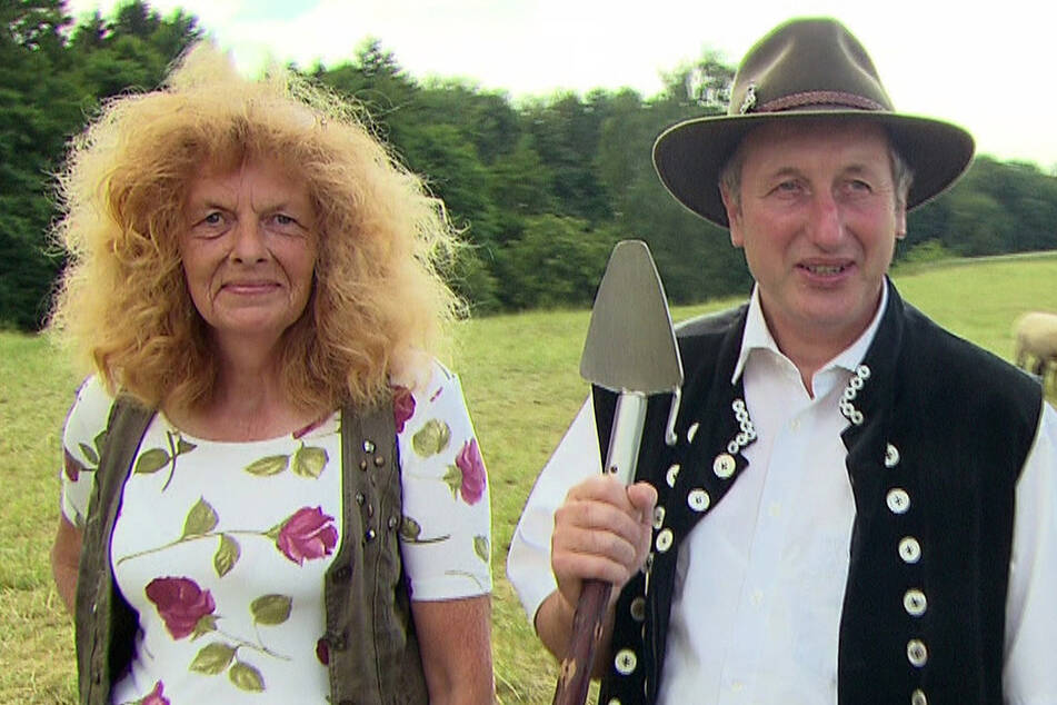 Schäfer Heinrich (53) muss seine Haushälterin Ulla (59) nach Leipzig ziehen lassen.