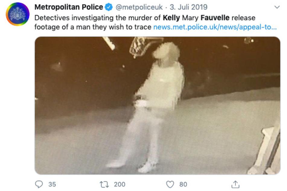 Mit diesem Foto suchten die Ermittler damals nach dem Verdächtigen.