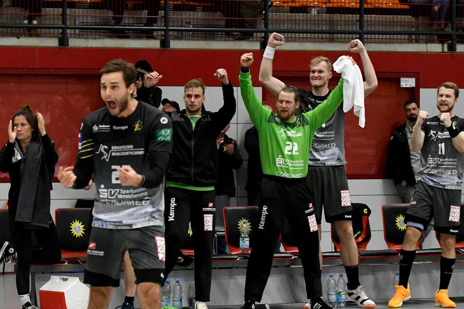 Der HC Elbflorenz feierte beim 27:21 bei TuS N-Lübbecke den zweiten Saisonsieg.