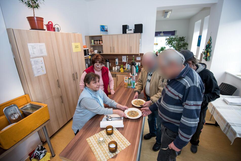 """Der Tagestreff """"Haltestelle"""" in Chemnitz: Hier wird Wohnungs- und Obdachlosen geholfen."""
