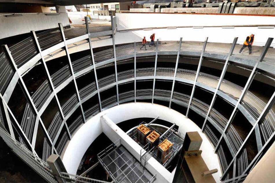 Über vier Etagen bietet das LOOM insgesamt 110 Läden.