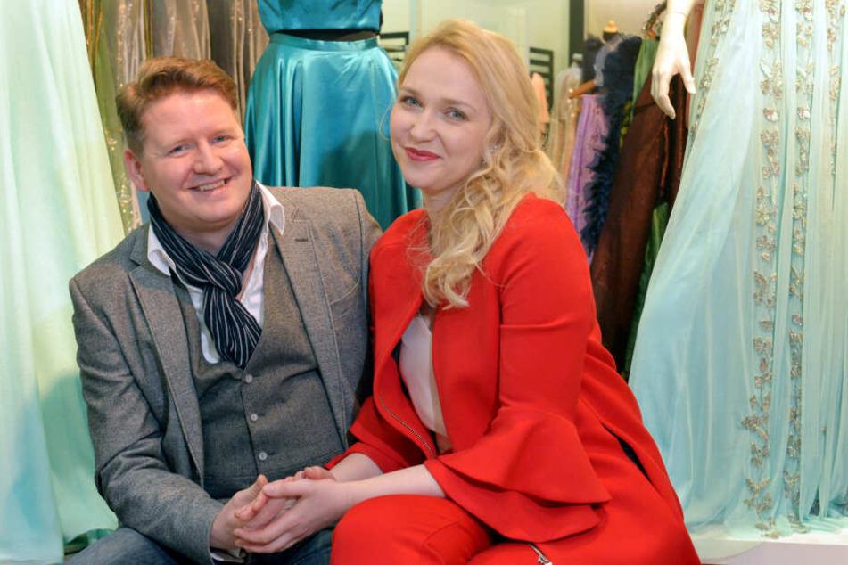 Seit 15 Jahren glücklich verheiratet: Tenor Martin (37) und Sopranistin Steffi Lehmann (34).