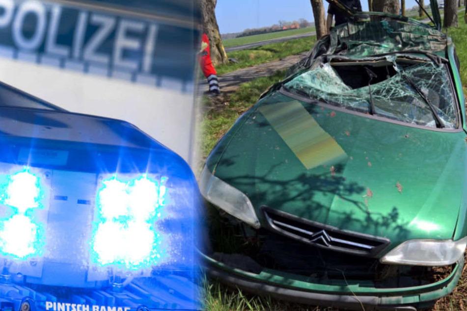 Ein 19-jähriger Autofahrer ist seinen schweren Verletzungen erlegen. (Symbolbild)