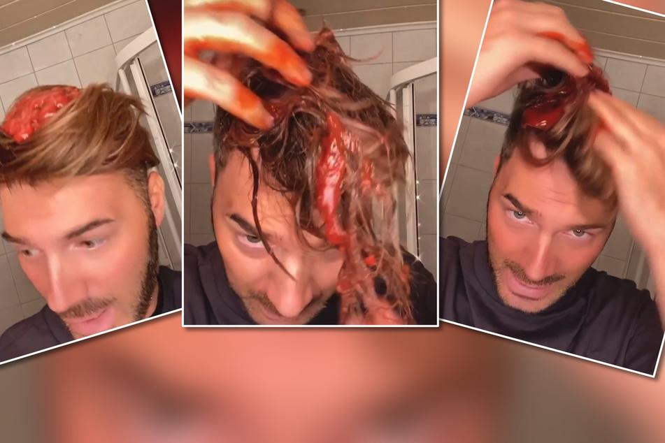 Rote Pampe: Was hat Sam Dylan da im Haar?