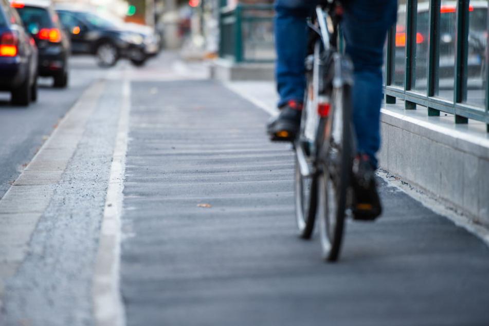 Überraschung: Beim Verlassen des Polizeigebäudes fand der Mann sein Rad wieder. (Symbolbild)