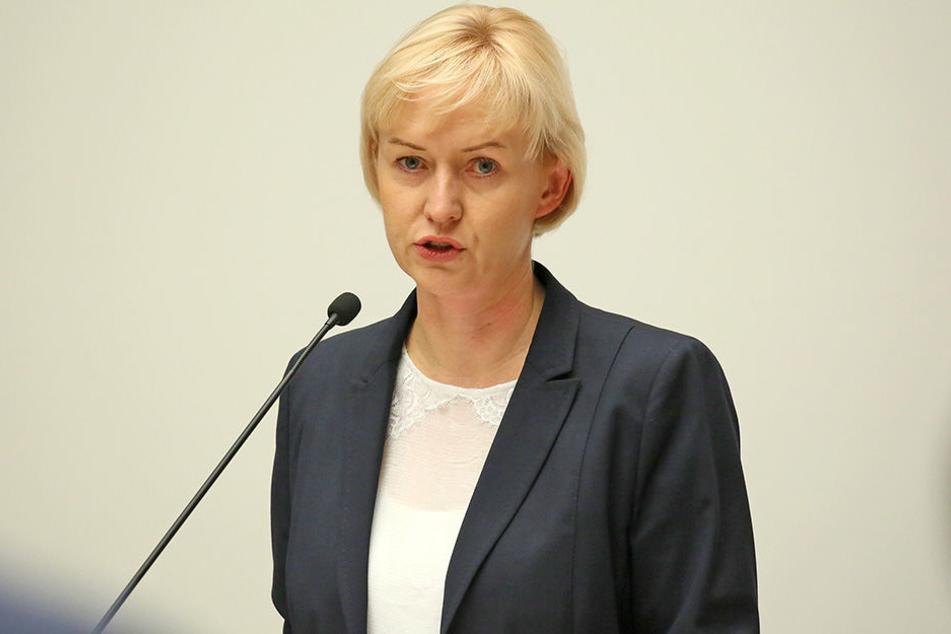 Im Kreuzfeuer der Kritik: Baubürgermeisterin Kathrin Köhler (39, CDU).