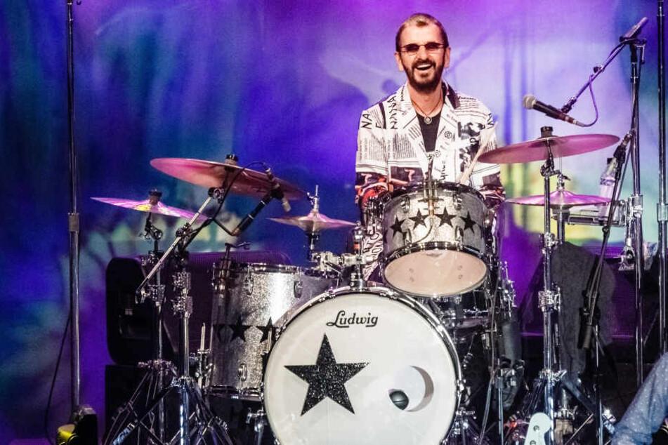 Ringo Starr beim Tourauftakt in Flensburg.