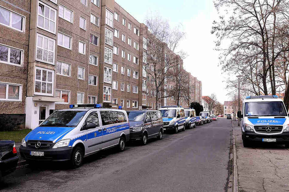 Auf der Lübbenauer Straße kam es am Sonntagabend zu einem Tötungsdelikt.