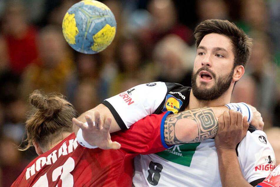 Handball-WM: Tim Suton rückt für verletzten Strobel ins DHB-Team