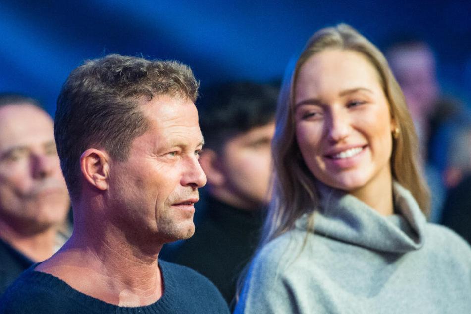 Til Schweiger besuchte mit seiner neuen Freundin einen Boxkampf in Hamburg.