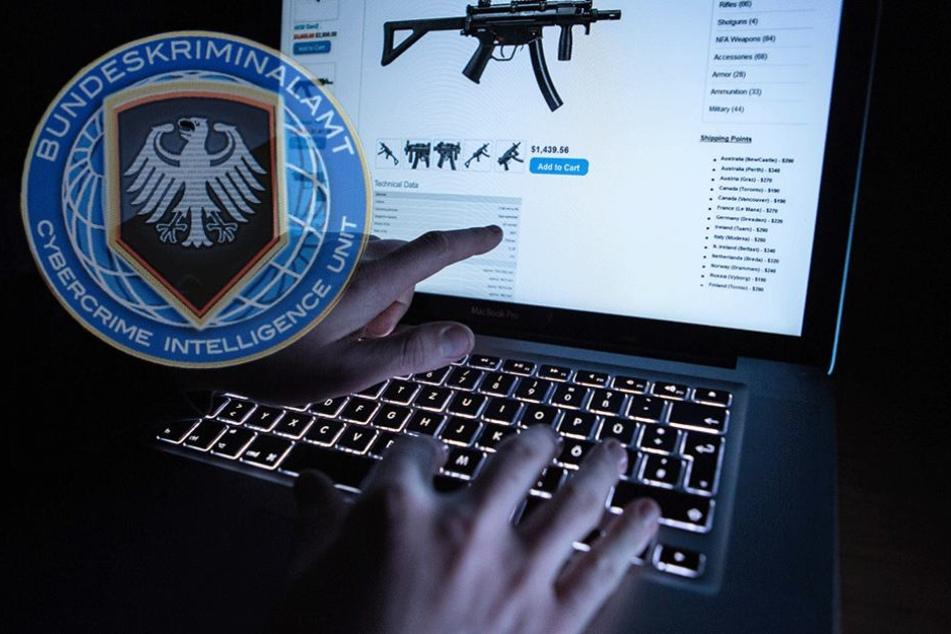 Unter Federführung des Bundeskriminalamts wurde vier Monate in einem Darknetforum ermittelt (Symbolfoto).