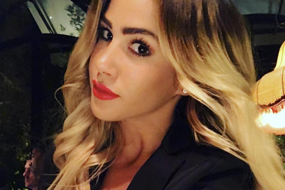Angelina Heger (26) beglückt ihre Fans gerade mit einem sexy Urlaubsschnappschuss.