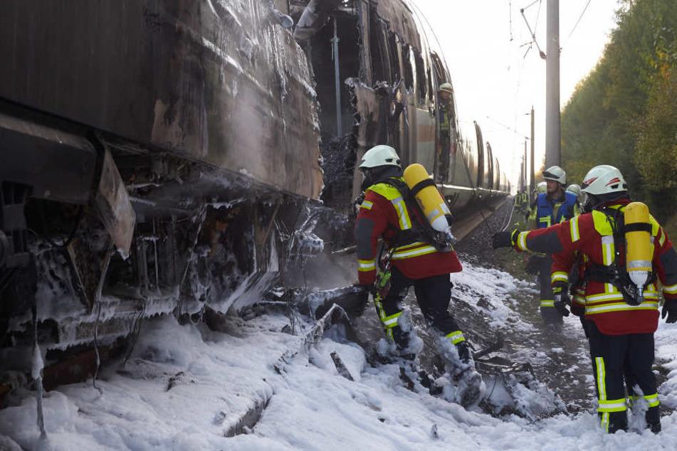 510 Passagiere waren an Bord des Zuges.