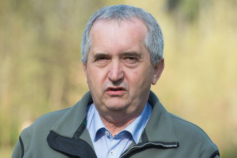 Umweltminister Thomas Schmidt (55, CDU).