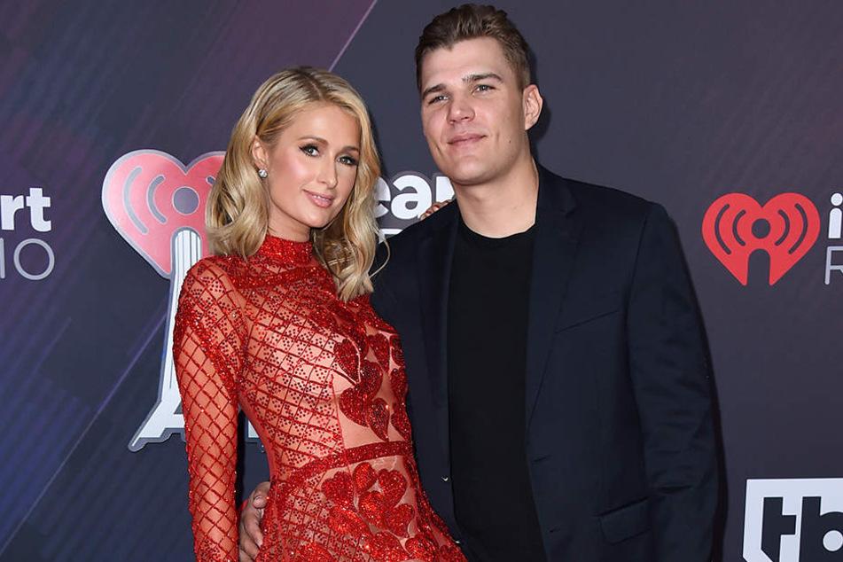 Damals war die Liebe noch groß: Paris Hilton und Chris Zylka bei der Verleihung der iHeartRadio Music Awards im März 2018 in Inglewood.