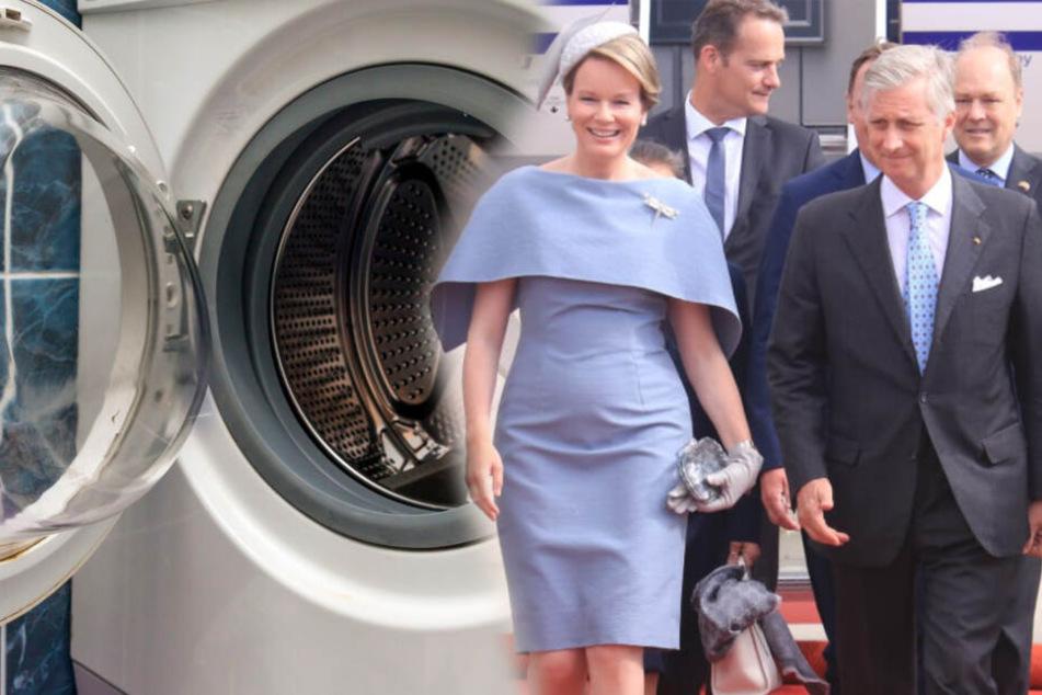 Wirbel um royalen Besuch! Waschmaschine sorgt für Polizeieinsatz