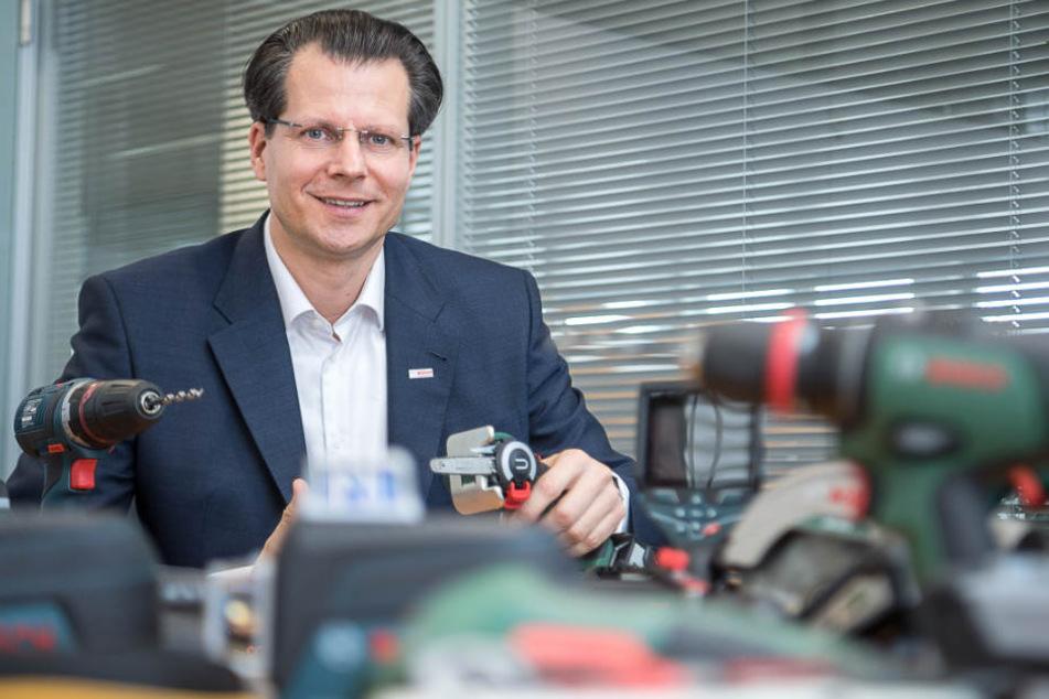 Kennt das Verhalten der Werkzeugnutzer: Henning von Boxberg, Chef der Sparte Bosch Power Tools.