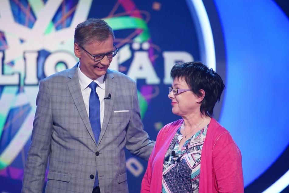 Ellen Marquardt (66) stellte die Geduld von Günther Jauch (62) auf eine harte Probe.
