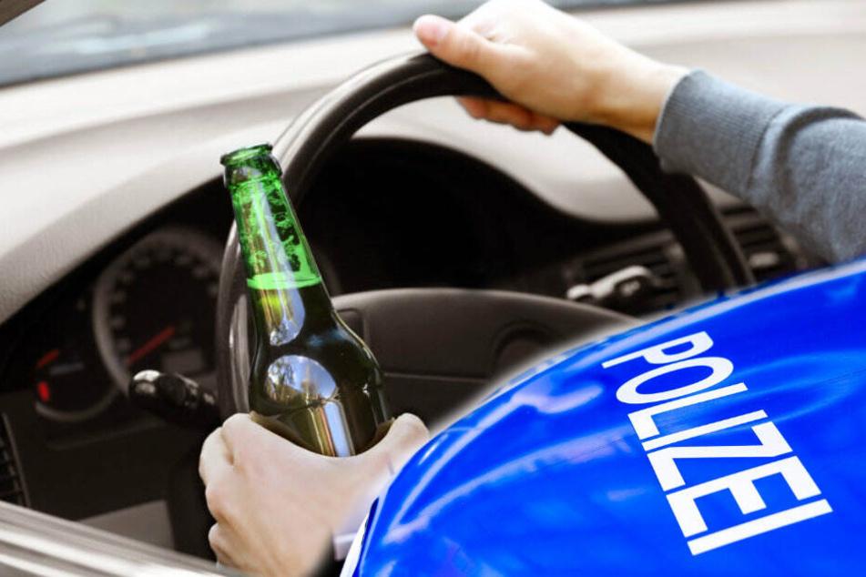 Irre! Betrunkener tauscht während der Fahrt den Platz mit dem Beifahrer