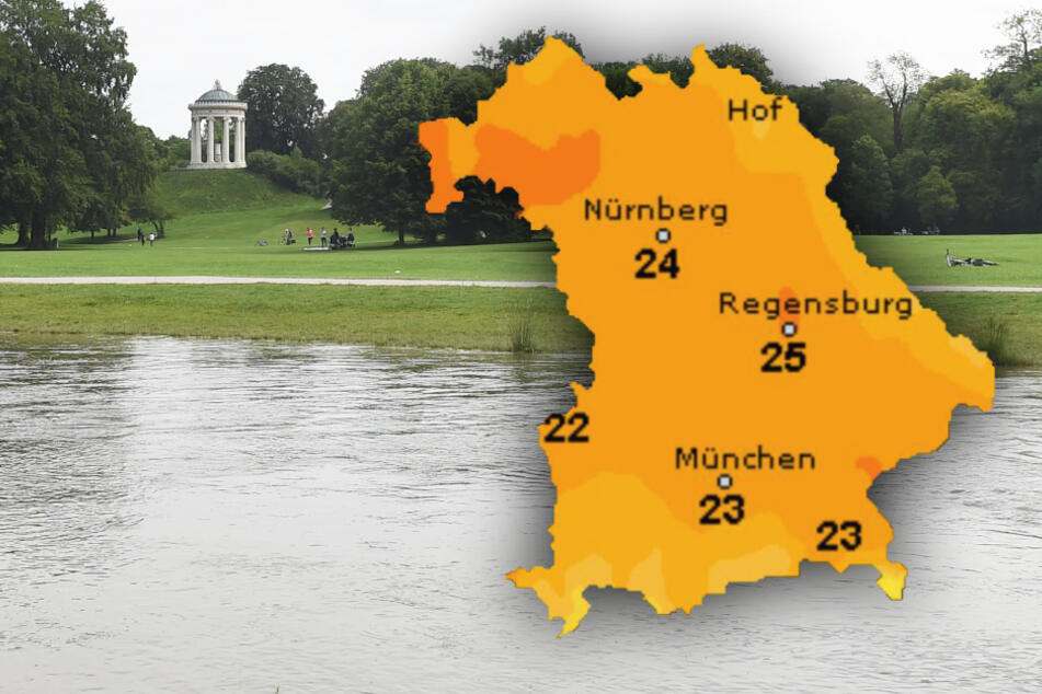 So wird das Wetter in Bayern zum Start in die Woche