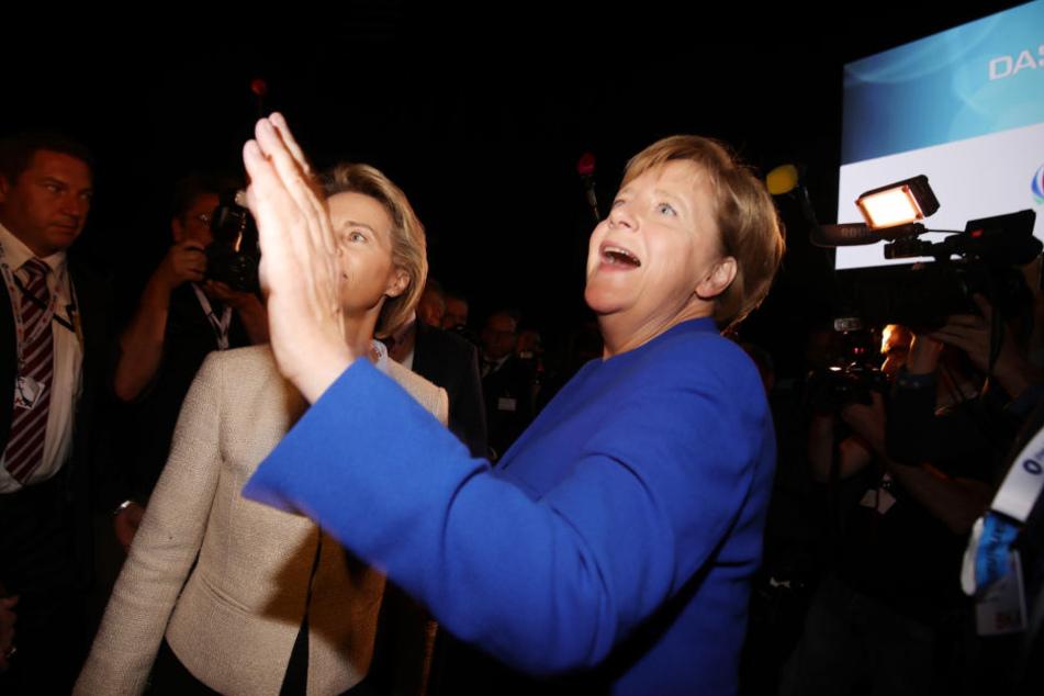 Am Ende hatte aber Angela Merkel gut Lachen.
