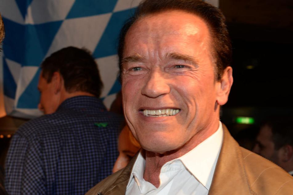 Arnold Schwarzenegger nutzte die Gelegenheit für eine Liebeserklärung. (Archivbild)