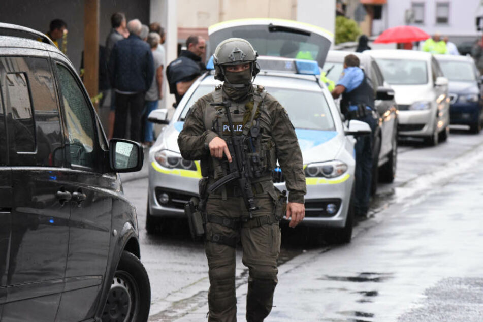 Mit einem Großaufgebot war die Polizei in Butzbach im Einsatz.