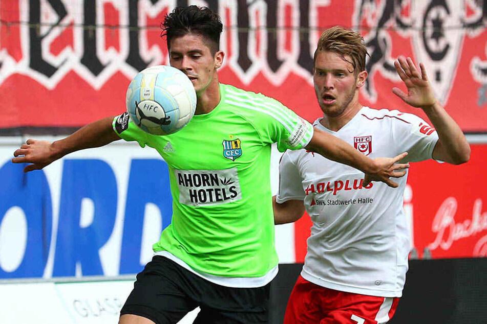 Neuzugang Dennis Mast spielte erst im linken, dann im rechten Mittelfeld.