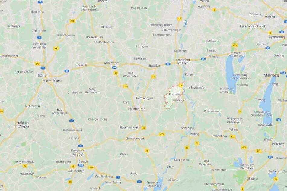 Der Vorfall ereignete sich in Fuchstal in Bayern.