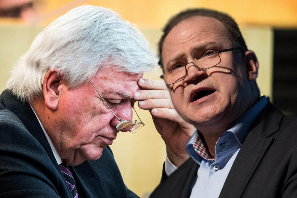 AfD-Vize sorgt mit Attacke gegen Bouffier für Eklat im Landtag