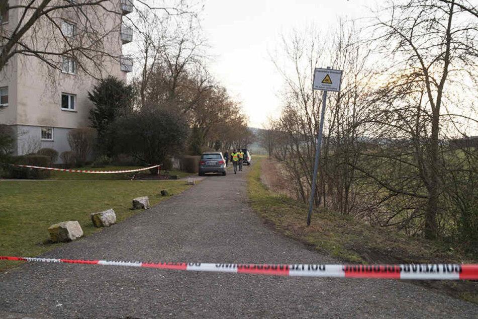 Nahe einem Feld bei Böblingen wurde eine Bombe entdeckt.