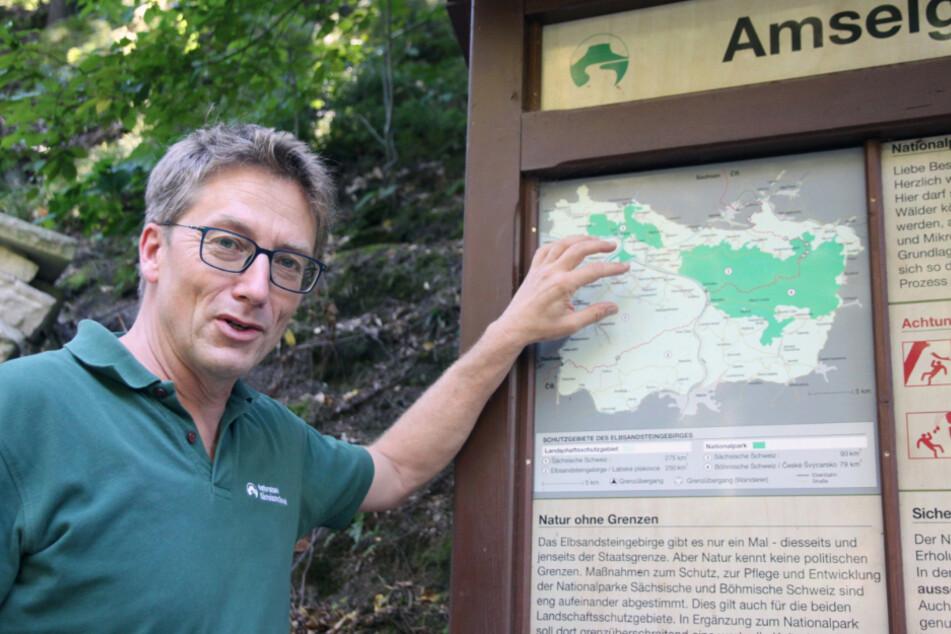 Nationalpark-Sprecher Hanspeter Mayr.