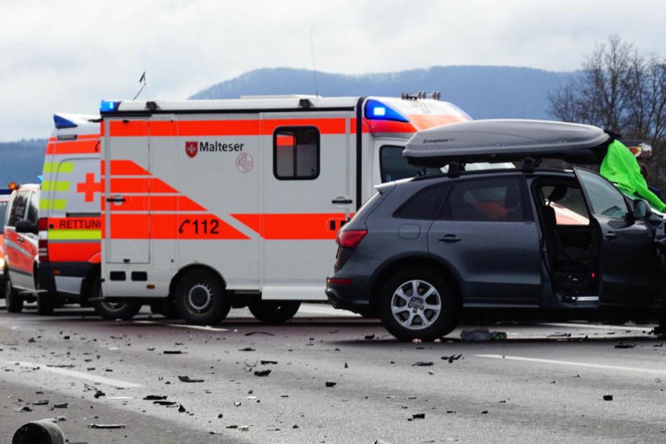 Durch die neuen Maut-Stationen kam es gleich zu mehreren Unfällen. (Symbolbild)