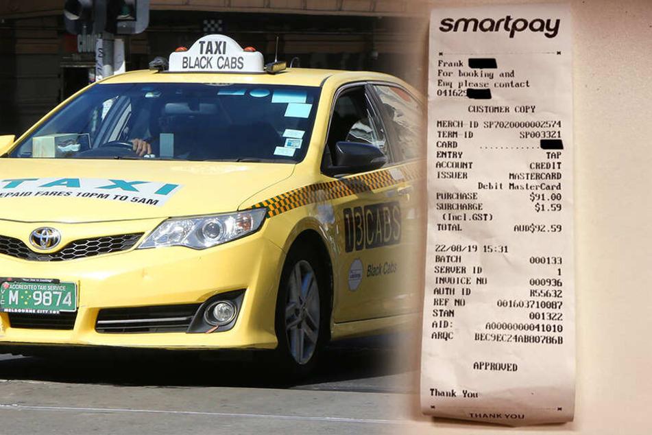 Taxigast wird von Fahrer abgezockt, doch am nächsten Tag staunt er nicht schlecht