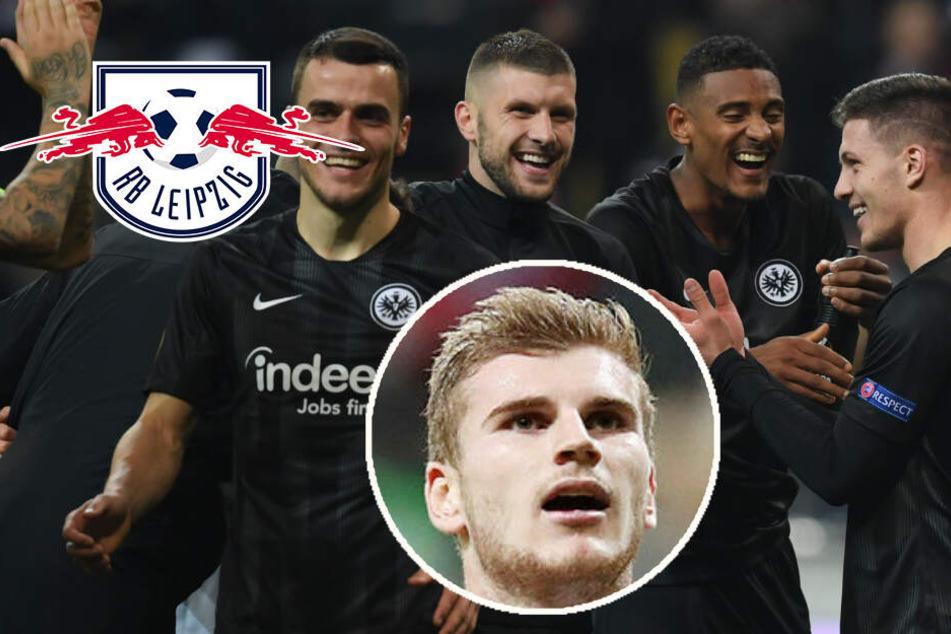 """So will RB Leipzig Frankfurts """"magisches Dreieck"""" im Topspiel ausschalten"""