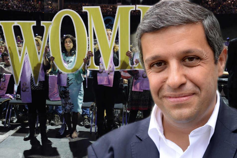 Raed Saleh favorisiert ebenfalls dem Weltfrauentag.