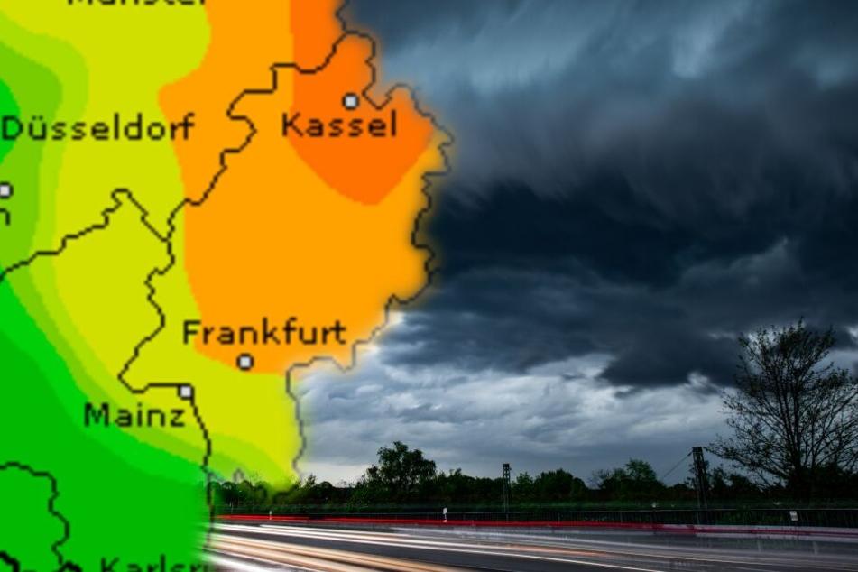 Am Wochenende ziehen einzelne Gewitter über das Land.