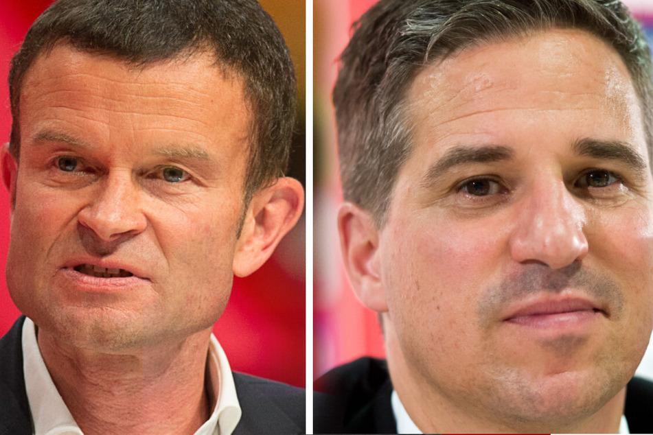 Die Vorstände Jochen Röttgermann (54, Marketing) und Stefan Heim (Finanzen) sind beim VfB aufgrund des Datenskandals umstritten.