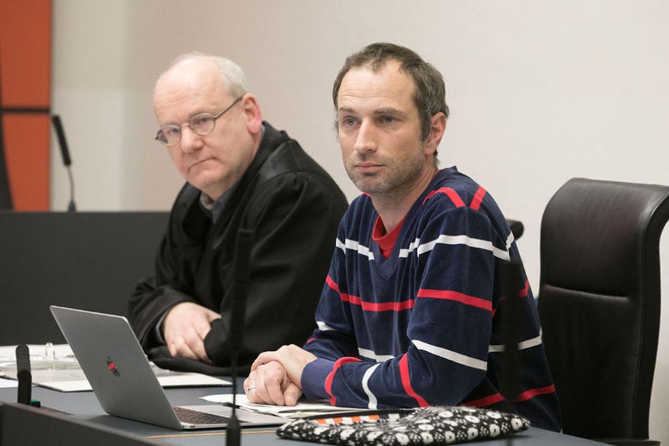 Kämpften gegen einen Bachmann-Post: Anwalt Johannes Lichdi (l.) und  Vereins-Chef Axel Steier (41).