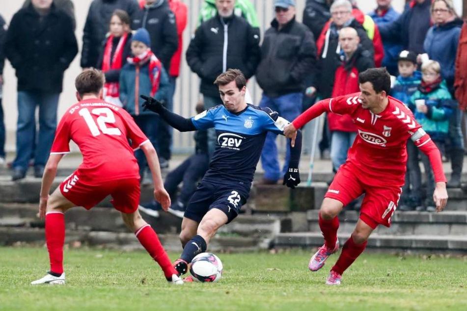Der FSV hat den Regionalligisten ZFC Meuselwitz im Testspiel 2:1 besiegt.