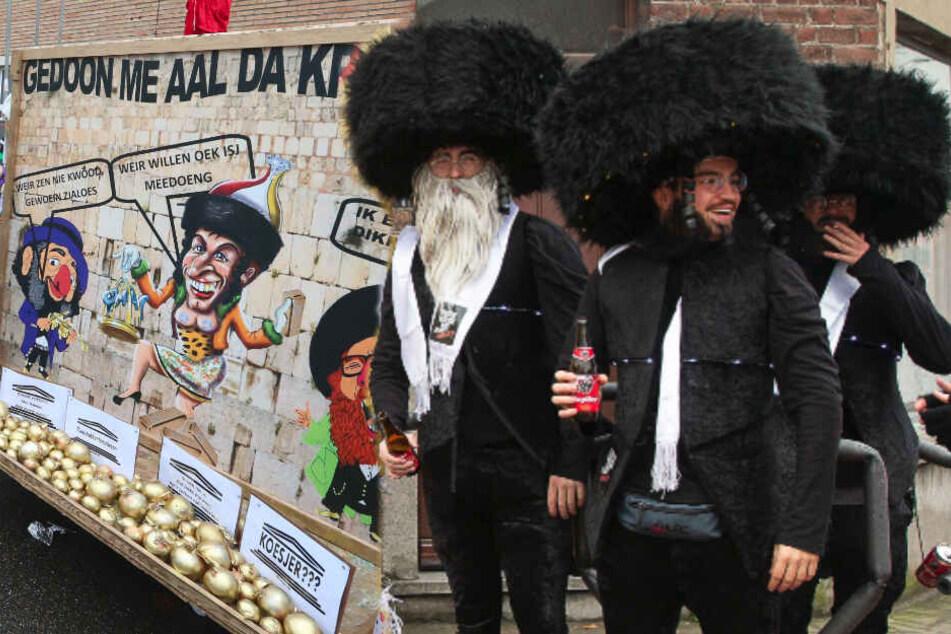 """Judenfeindliche Darstellungen beim Karneval: """"Können rechtlich nichts machen"""""""