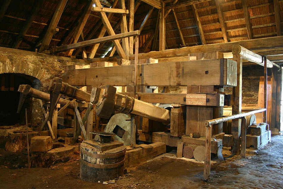 Der Althammer im Saigerhütten-Komplex.