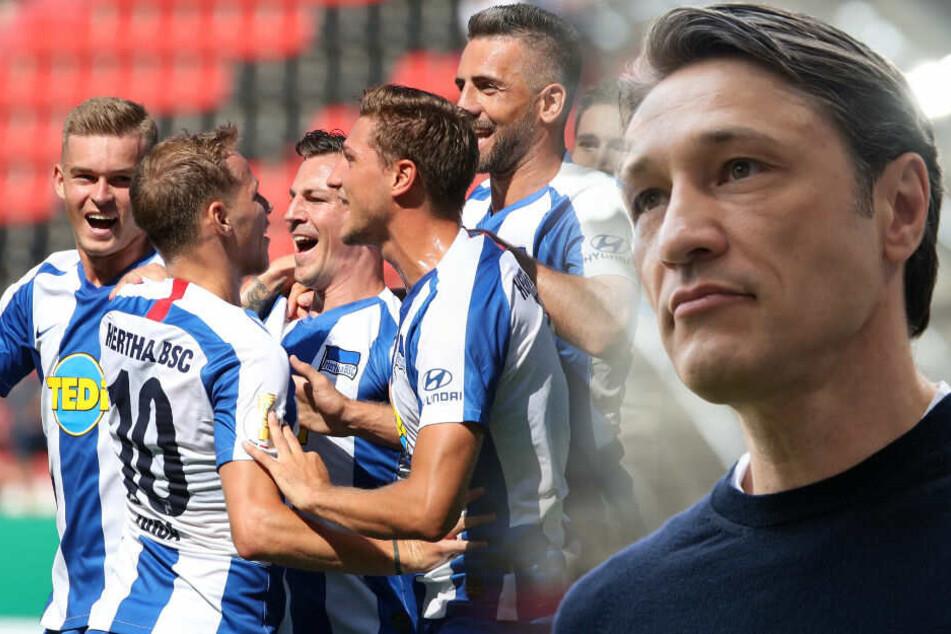 Niko Kovac erwartet mit Hertha einen unbequemen Gegner. (Bildmontage)