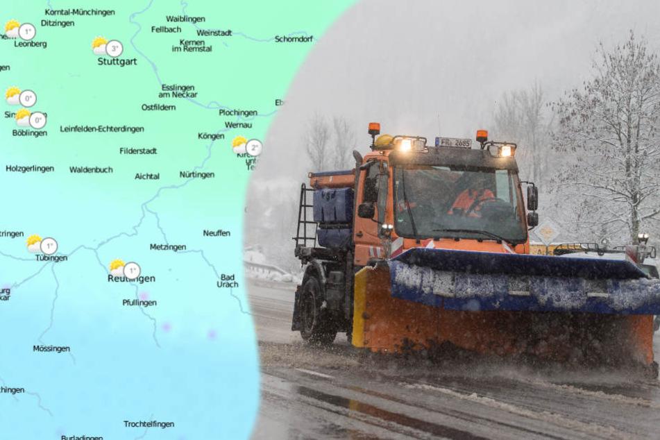 Besonders im Schwarzwald und Allgäu kann es schneien. (Archivbild)