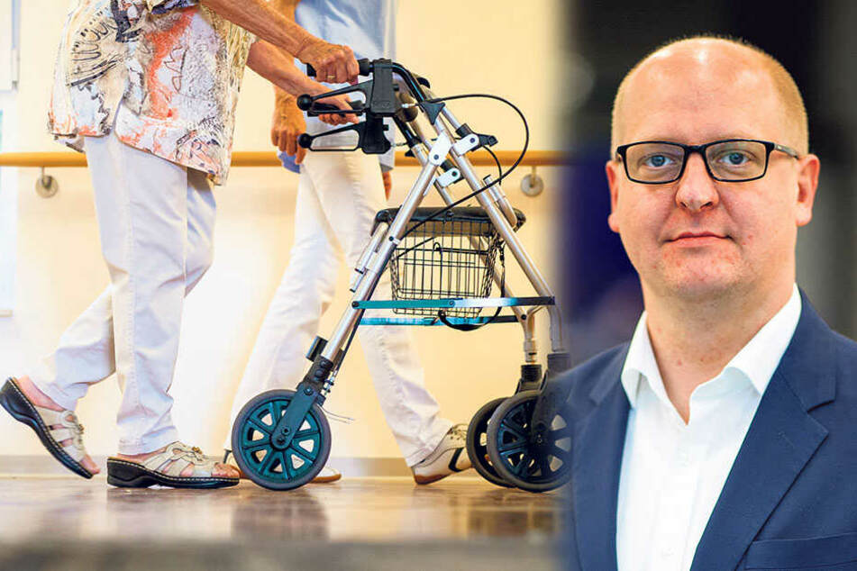 Henning Homann und seine Parteikollegen wollen sich auch für einen Pflegetarifvertrag einsetzen.
