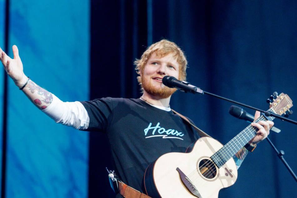 Er singt von Hunderttausenden Menschen, doch privat hat Sänger Ed Sheeran lieber seine Ruhe.